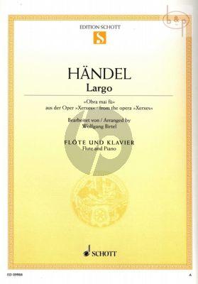 Largo (Obra mai fu) (Xerxes) (Flute-Piano)