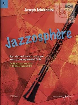 Jazzosphere Vol.3 (Clarinett[Bb]-Piano) (Bk-Cd)
