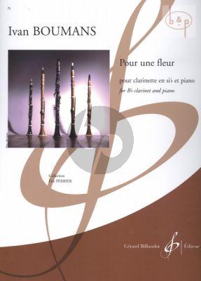 Pour une Fleur Clarinet-Piano
