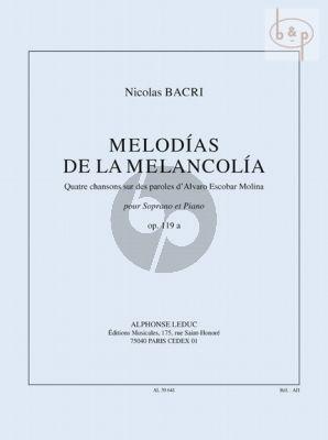 Melodias de la Melancolia Op.119a (Soprano-Pi.)