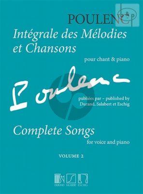 Integrale des Melodies et Chansons Vol.2