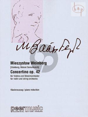 Weinberg Concertino Op.42 Violine und Streichorchester (Klavierauszug)