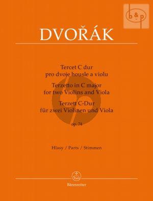 Terzetto C-major Op.74 (2 Vi.-Va.)