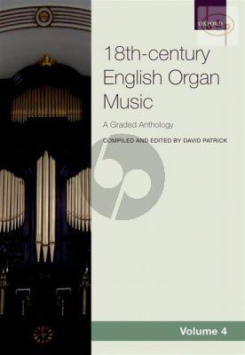 Anthology of 18th. Century English Organ Music Vol.4