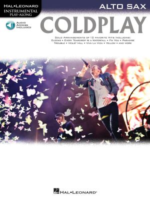 Coldplay Alto Sax (Hal Leonard Instrumental Play-Along) (Bk-Audio Online Access Code)