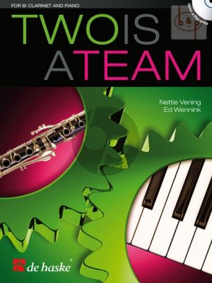 Two is a Team for Clarinet and Piano (Bk-Cd)