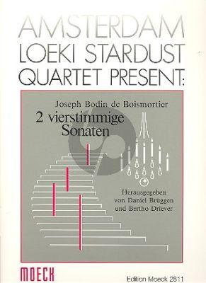 2 Sonaten 4 Blockfloten