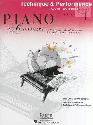 Piano Adventures Technique & Performance Level 1