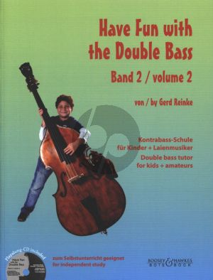 Reinke Have Fun with the Double Bass Vol.2 (Bk-Cd)