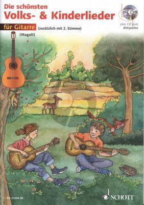 Die Schonsten Volks- und Kinderlieder (1 - 2 Guitars)