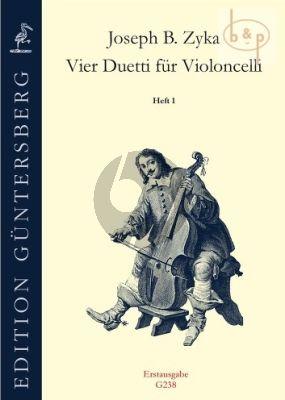 4 Duetti Vol.1 (Duetto G-major and D-major) (2 Violoncellos) (ed. G.von Zadow)