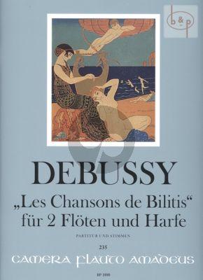Les Chansons de Bilitis (2 Flutes-Harp)