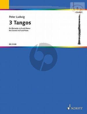 3 Tangos for Clarinet in Bb and Piano