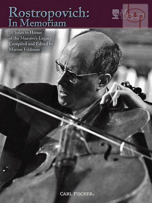 Rostropovich: In Memoriam Violoncello-Piano