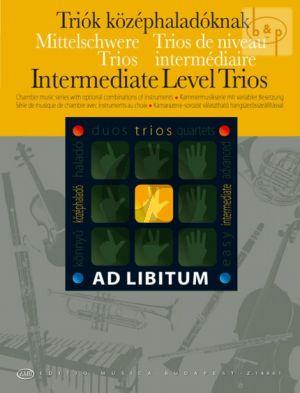 Intermediate Level Trios (in any combination)