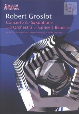 Concerto for Saxophone (Soprano/Alto Sax. with Orchestra