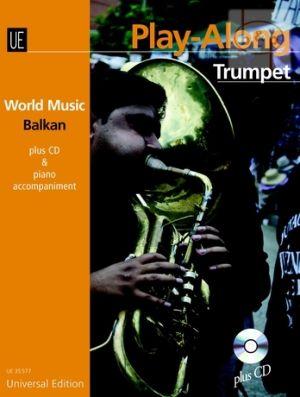 World Music Balkan Play-Along (Trumpet-Piano) (Bk-Cd)
