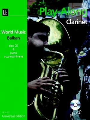 World Music Balkan Play-Along (Clarinet-Piano) (Bk-Cd)