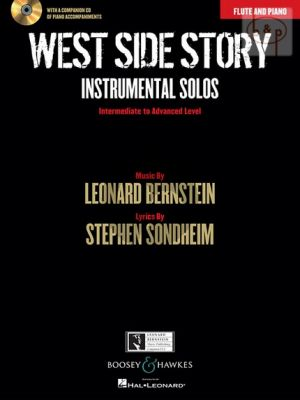 West Side Story Instrumental Solos (Flute-Piano) (Bk-Cd)