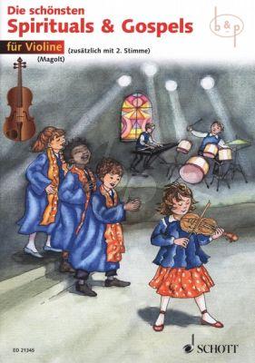 Die Schonsten Spirituals & Gospels (1 - 2 Violins) (edited by Hans and Marianne Magolt)