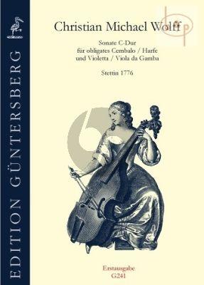 Sonata C-major (obl.Harpsichord[Harp]-Violetta [Viola da Gamba])