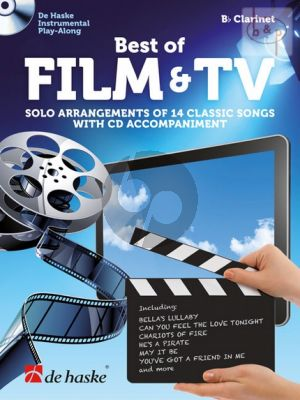 Best of Film & TV (Solo Arrangements of 14 Classic Songs) (Clarinet in b)
