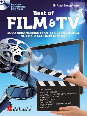 Best of Film & TV (Solo Arrangements of 14 Classic Songs) (Alto Sax.)