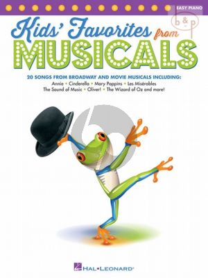 Kids' Favorites from Musicals (20 Songs from Broadway and Movie Musicals)