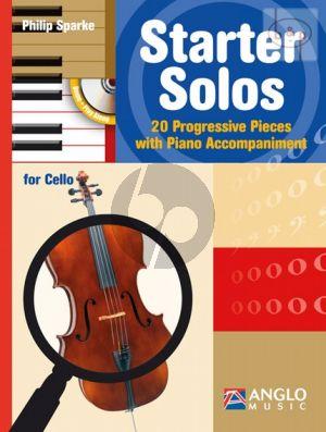 Starter Solos (52 Progressive Pieces) (Violoncello-Piano)