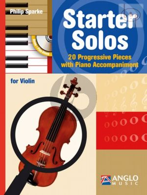 Starter Solos (20 Progressive Pieces) (Violin-Piano)