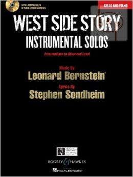West Side Story Instrumental Solos (Violoncello-Piano) (Bk-Cd)
