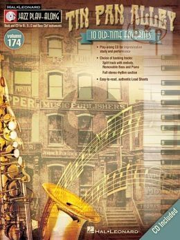 Tin Pan Alley (Jazz Play-Along Series Vol.174)