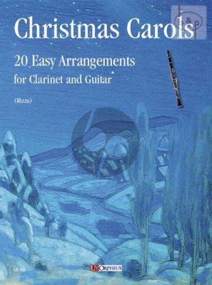 Christmas Carols Clarinet[Bb]-Guitar (20 Easy Arrangements)