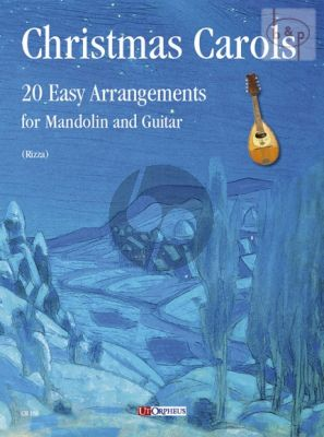 Christmas Carols Mandolin-Guitar (20 Easy Arrangements)
