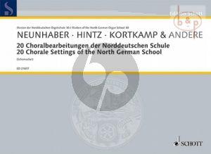 20 Choralbearbeitungen der Norddeutschen Schule