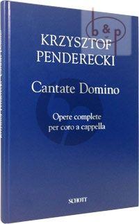 Cantate Domino Opere complete