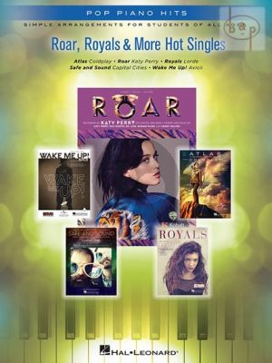 Roar-Royals and More Hot Singles (Simply arrangements for all Ages)