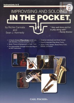 Improvising and Soloing in the Pocket for all C Instruments