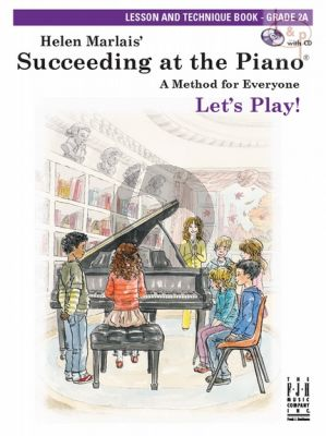 Succeeding at the Piano Lesson and Technique Grade 2A Book with CD