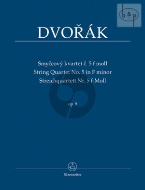 Quartet No.5 f-minor (2 Vi.-Va.-Vc.) (Study Score)