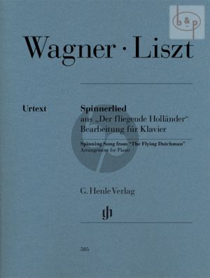 Spinnerlied (from the Flying Dutchman) (arr. Franz Liszt)