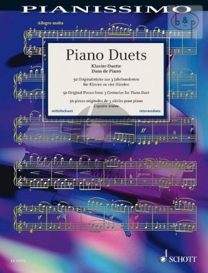 Piano Duets (50 Original Pieces from 3 Centuries)