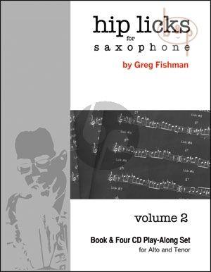 Hip Licks for Saxophone Vol.2