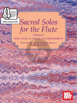 Sacred Solos for the Flute Vol.1 Flute-Piano (Book-Audio)