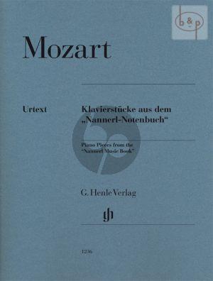 Klavierstucke aus dem Nannerl-Notenbuch (edited by Ulrich Scheideler)
