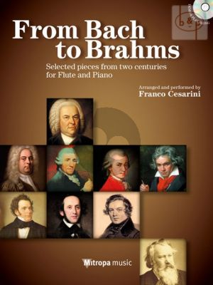 From Bach to Brahms (Selected Easy Pieces from 2 Centuries) (Flute-Piano)