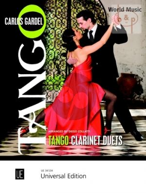 Tango for 2 Clarinets