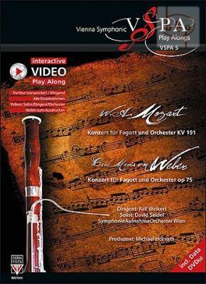 Concerto B-flat major KV 191 with Weber Concerto F-major Op.75 (Bassoon-Orch.)