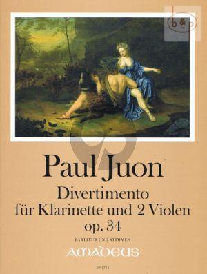 Divertimento Op.34 (Flute- 2 Violas)