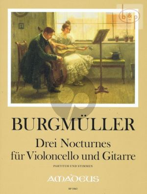 3 Nocturnes (Violoncello-Guitar)